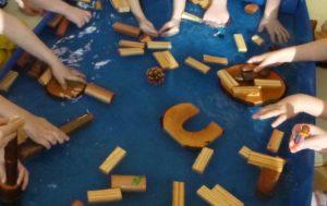 Wassertransport - Spiel